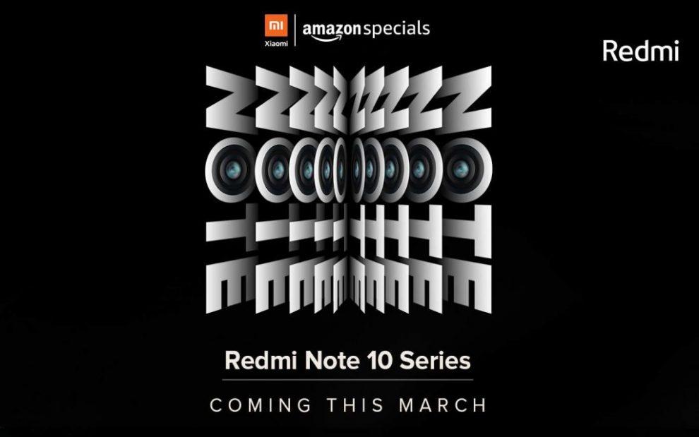 Redmi Note 10 India launch