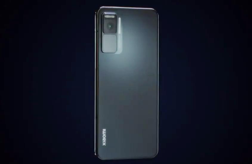 Xiaomi waterfall concept phone back