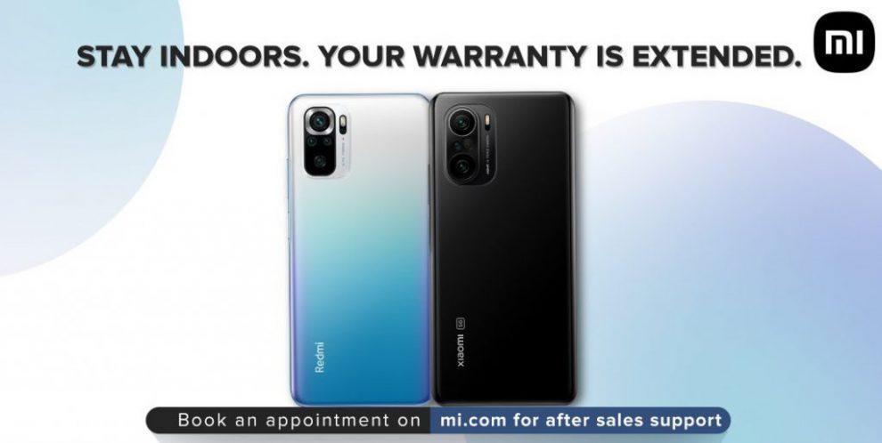 Xiaomi warranty extension