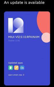 Redmi K20 Pro Android 11 MIUI 12.5