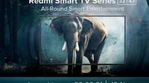 Redmi Smart TV 32 43 India launch invite 300x168 c