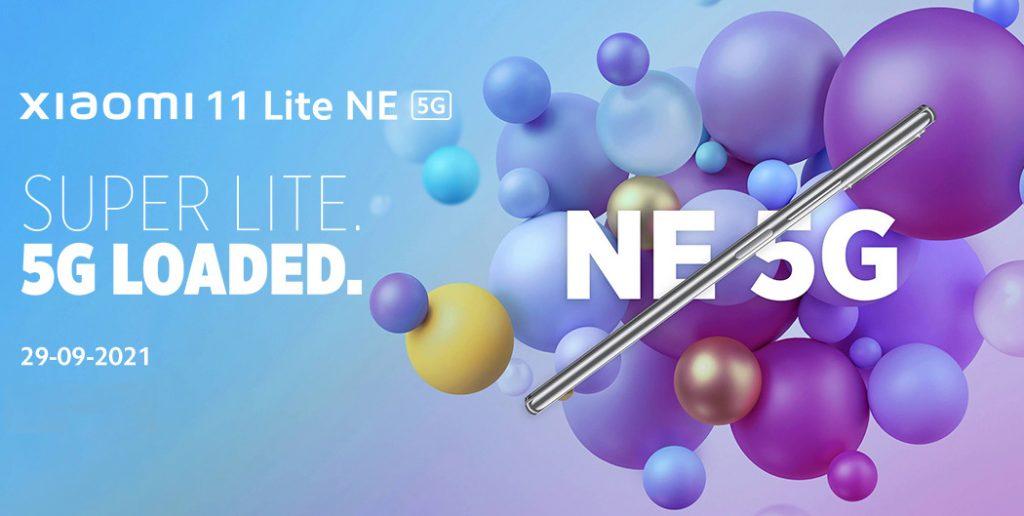 Xiaomi 11 Lite NE 5G India launch invite
