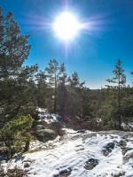 Stockholm Nacka Nature Reserve Mar 2017-10