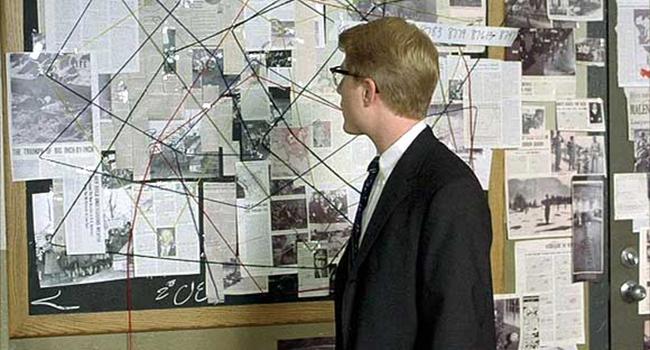 Kuvahaun tulos haulle detective wall