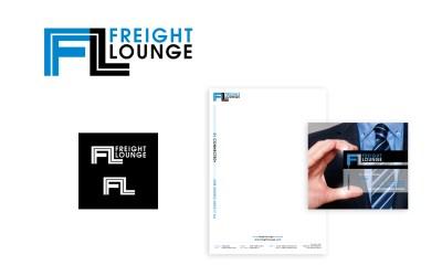 Logo, briefpapier en transparant visitekaartje ontwerp