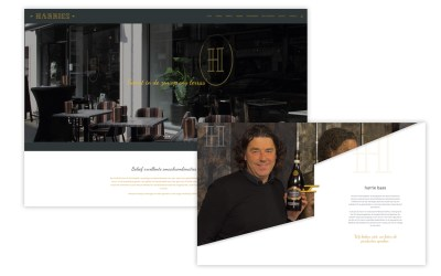 Ontwerp Webdesign – HARRIES Wine & Deli