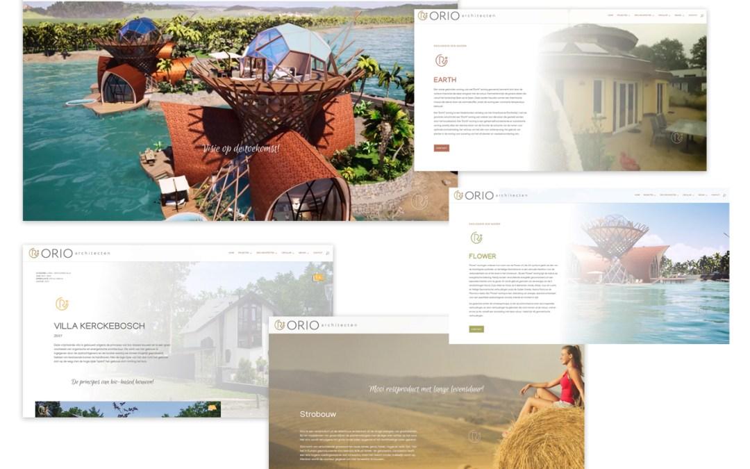 Webdesign & ontwikkeling Orio Architecten