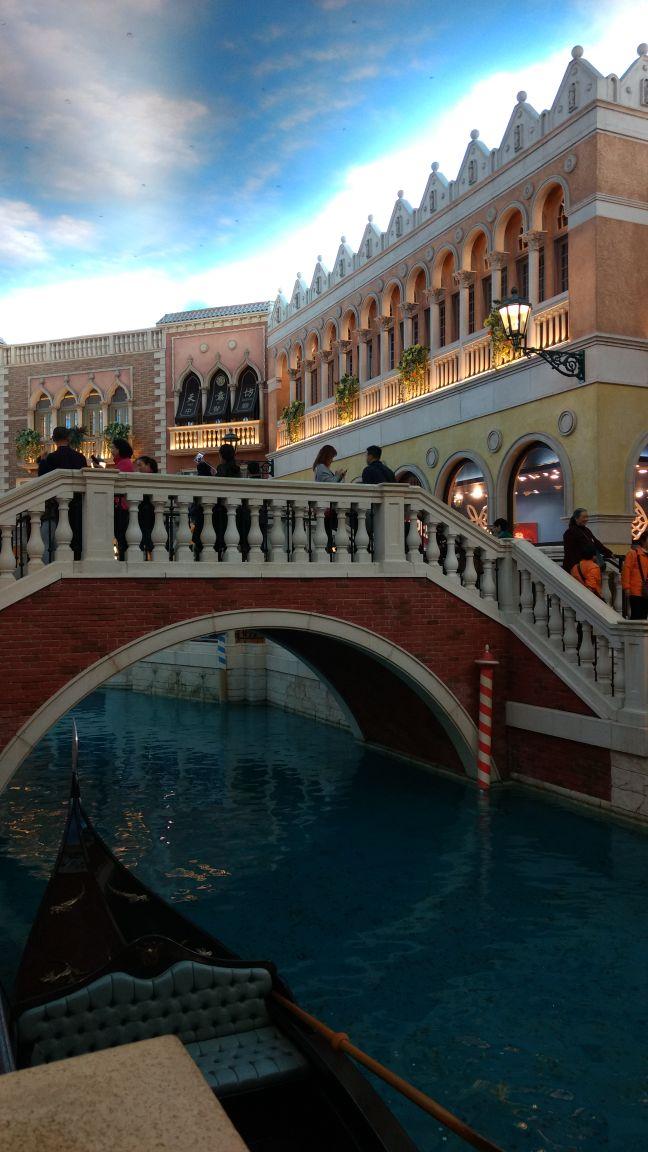 Venetian shopping area
