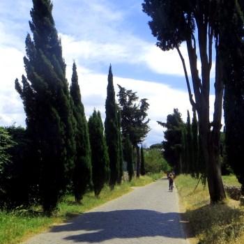 Die Via Appia Antica in Rom