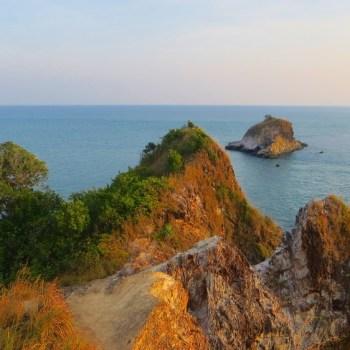 Blick auf das Südende von Ko Lanta