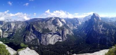 Panorama Yosemite Valley vom Glacier point