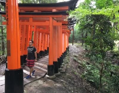 Fushimi-Inari, Weg, Kyoto