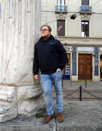 Marc Möllmann in Mailand