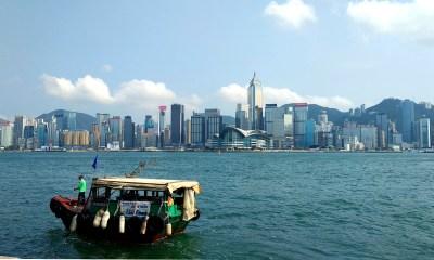 Skyline Hong Kong Island