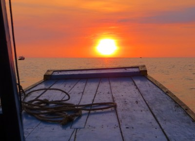 Tonle Sap Sonnenuntergang