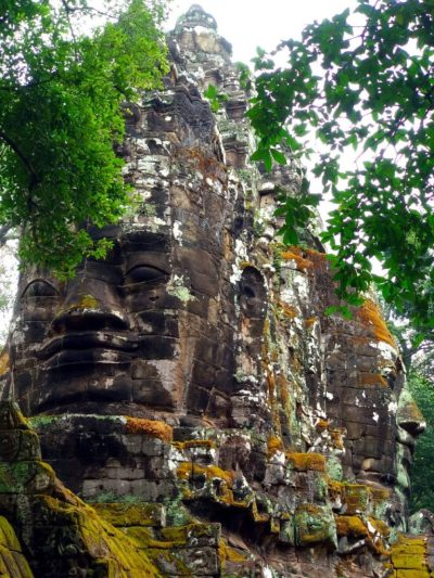 Angkor Thom Eingangstor mit Gesichtern