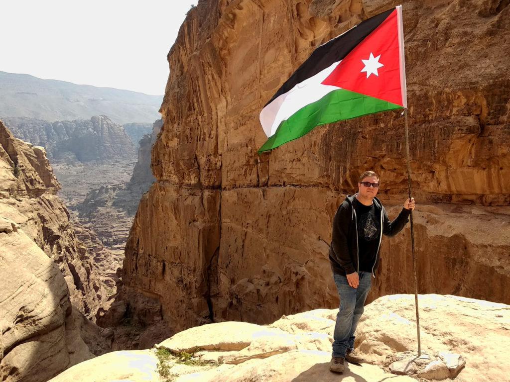 Aufstieg zu Ad-Deir