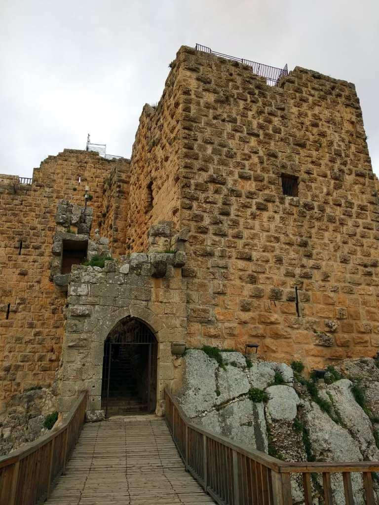 Ajloun Castle Entrance