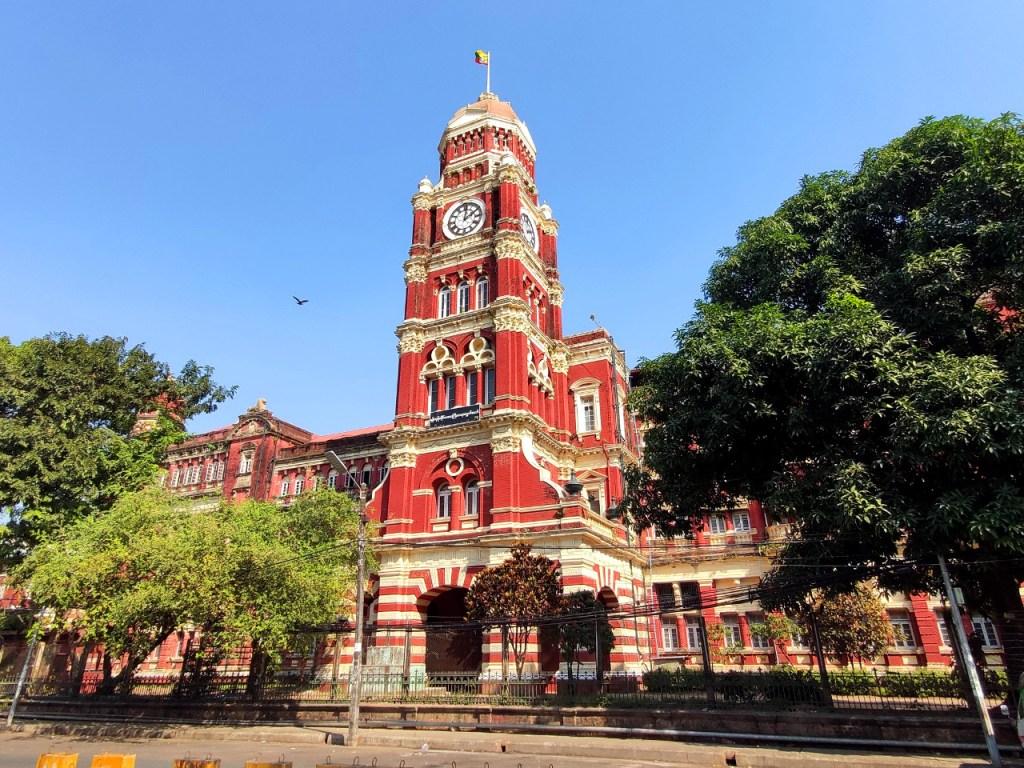 Oberster Gerichtshof in Yangon