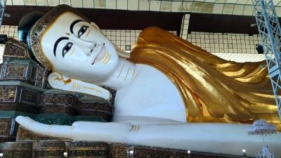 Shwethalyaung Buddha in Bago