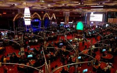 Casino im Grand Lisboa, Macau