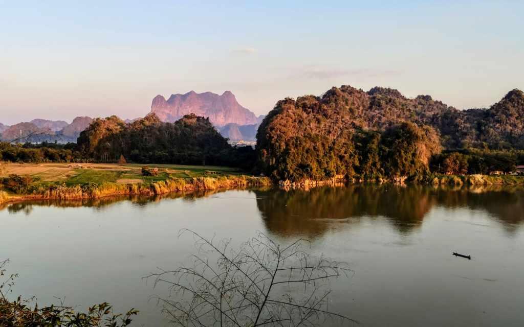 Landschaft bei Hpa-An
