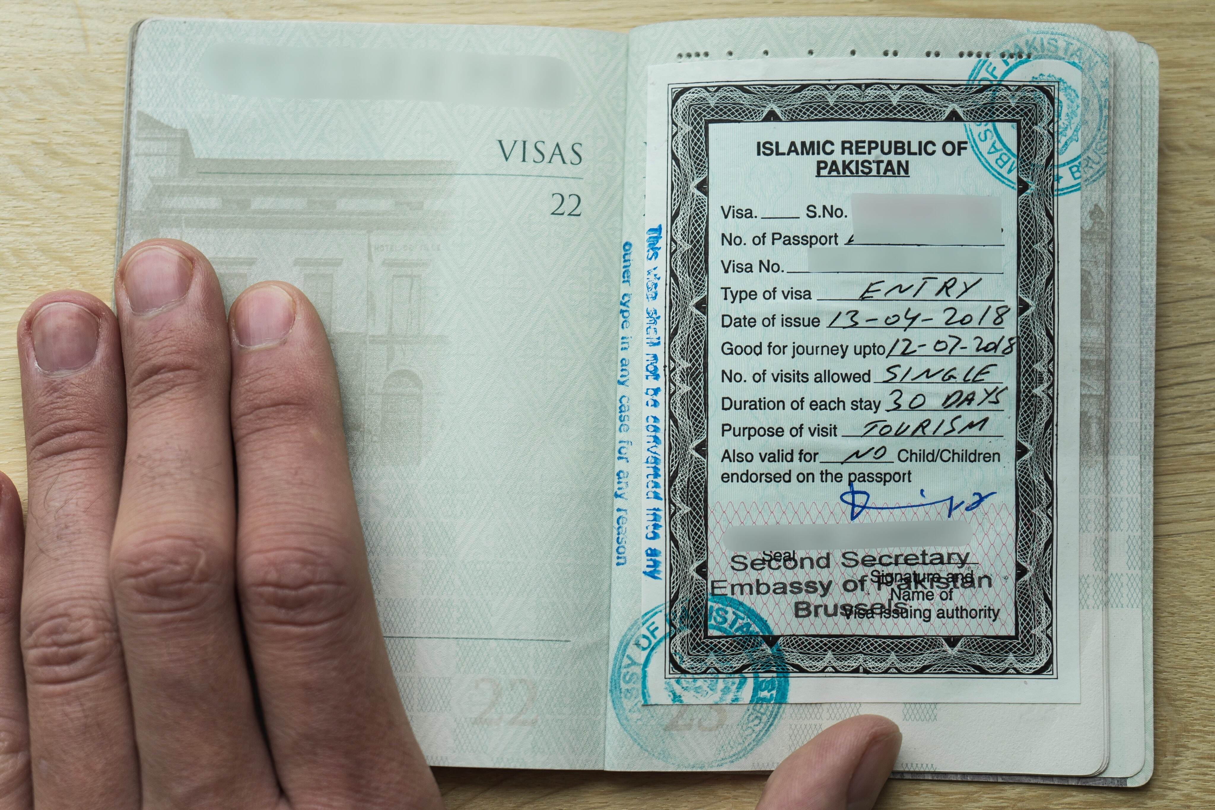 How To Apply For A Pakistani Visa In Brussels Everywhere In Particular
