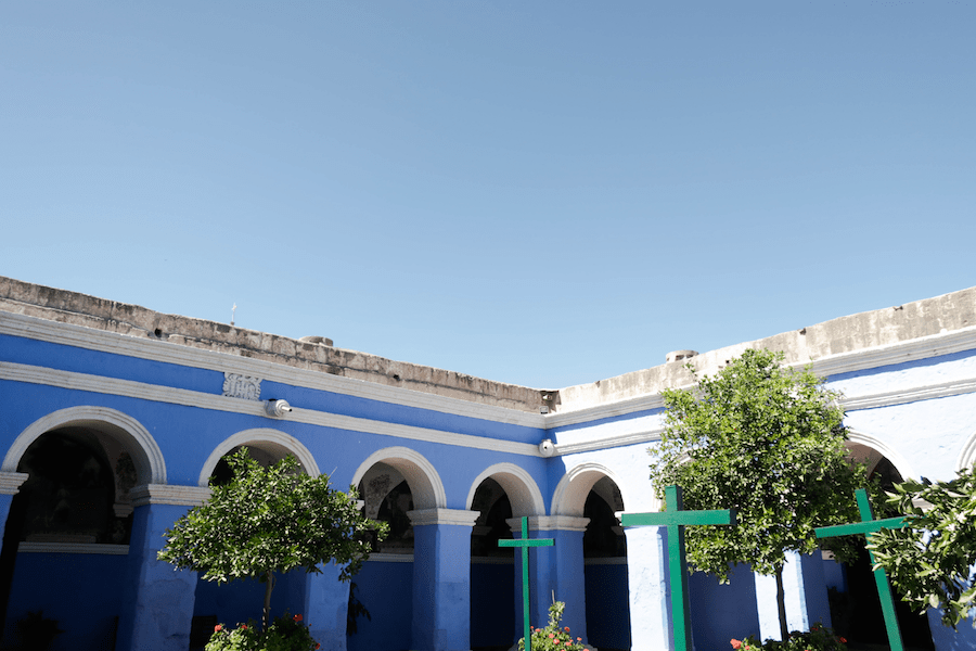 Visiting the Santa Catalina Monastery in Arequipa, Peru