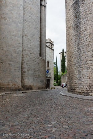 Towers of Girona Spain