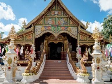 Wat Ming Muang, Chiang Rai Thailand