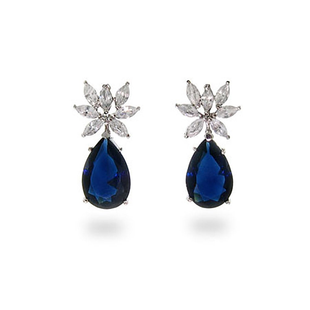 Image result for sapphire earrings photos