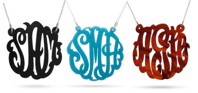 acrylic-monograms