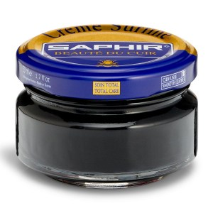 Creme Surfine Pommadier Protective Leather Wax – Black