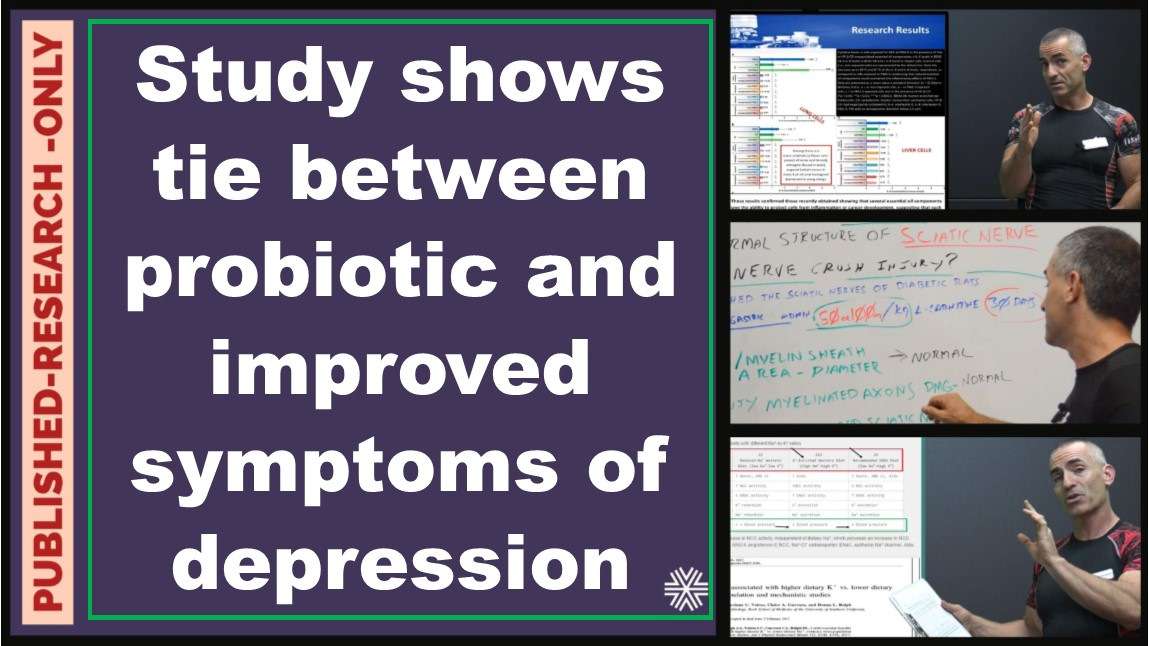 Probiotic relieves depression and alters brain function significantly in Human Trial