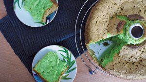 Pandan cake recipe by eveseason