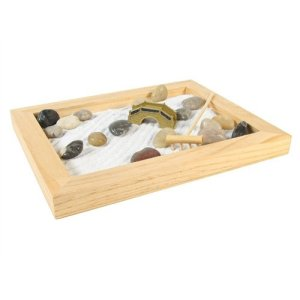 Large Natural Wood Zen Garden