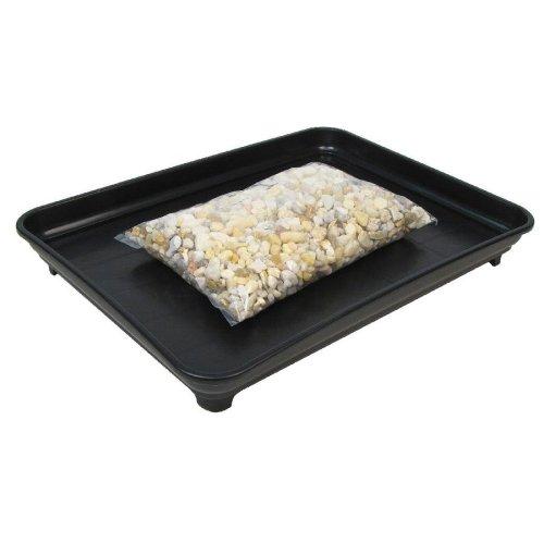Bonsai Humidity Tray 9x12 with Pebbles