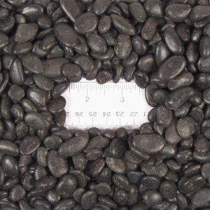 Black Decorative Small Pebbles