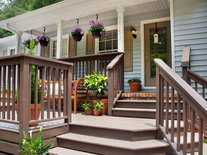 An Added Deck to the Porch