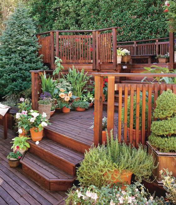 Deck handrail ideas