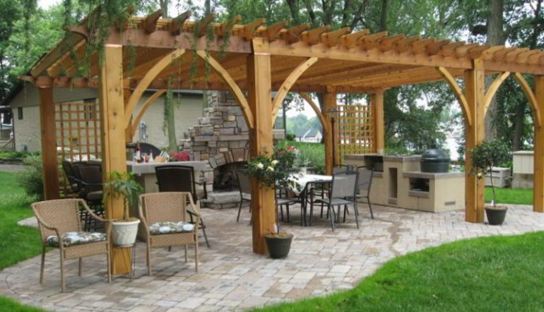 Elegant grill patio ideas