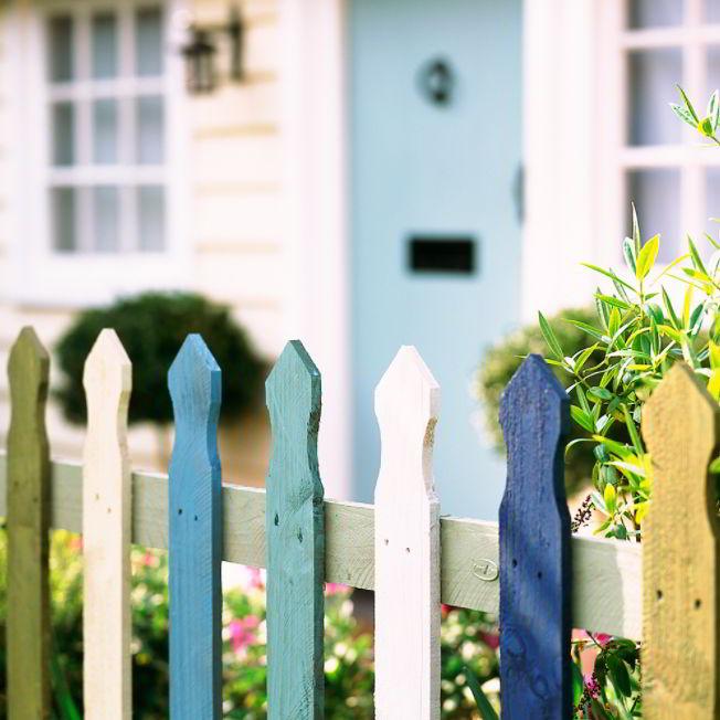 rustic fence ideas