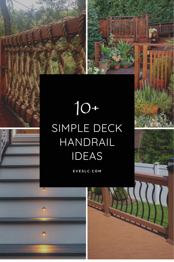 Best deck handrail ideas
