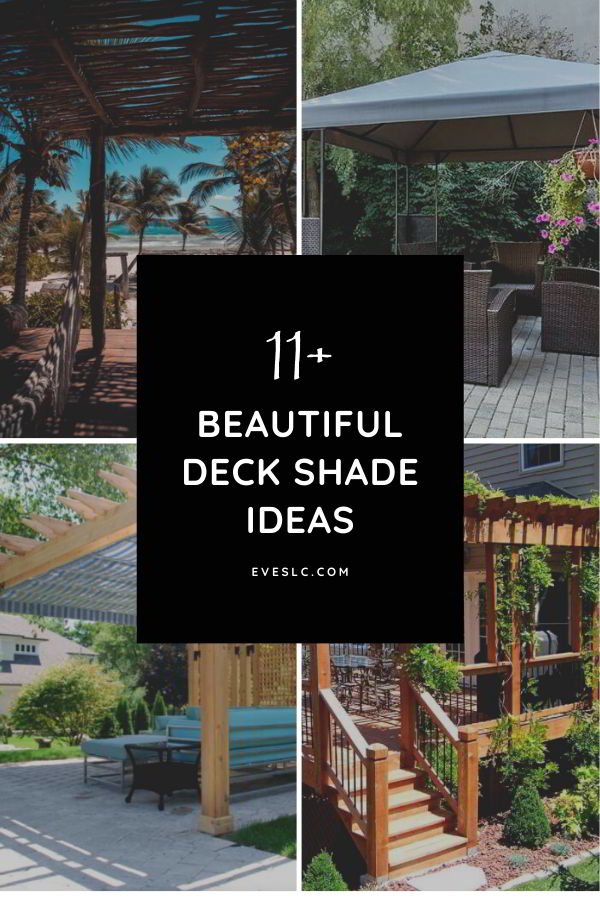 Best deck shade ideas