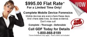 Mobile Device Forensics Flat Rate