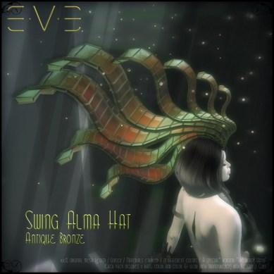 E.V.E (V) Swing Alma Hat BRONZE ANTIQUE