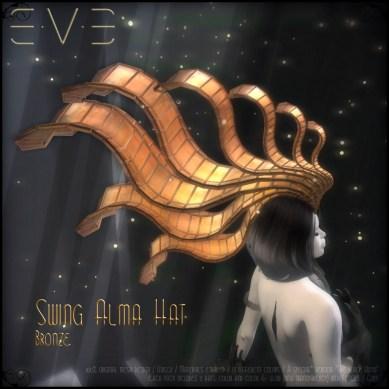 E.V.E (V) Swing Alma Hat BRONZE