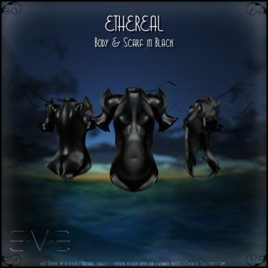 E.V.E (V) Ethereal Body Black