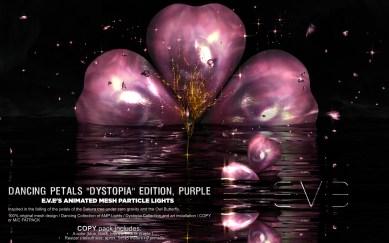 E.V.E {V} Dancing Petals Purple Dystopia Edition