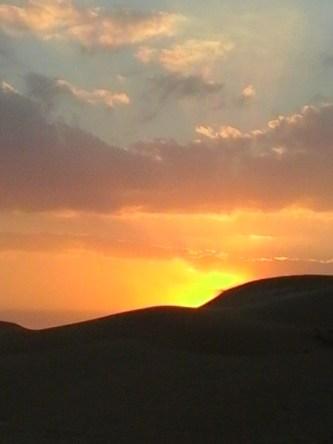 SunsetADdesert, vinneve
